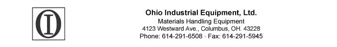 Ohio Industrial Equipment